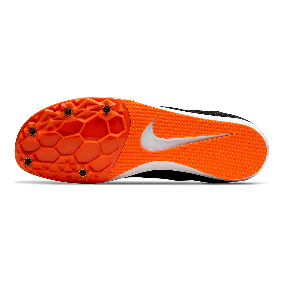 Nike Zoom Rival D 10 Track Spikes - Color: Black/White/Iron Grey/Hyper Crimson - Size: M4/W5.5 - Width: Regular, Black/White/Iron Grey/Hyper Crimson, large, image 3