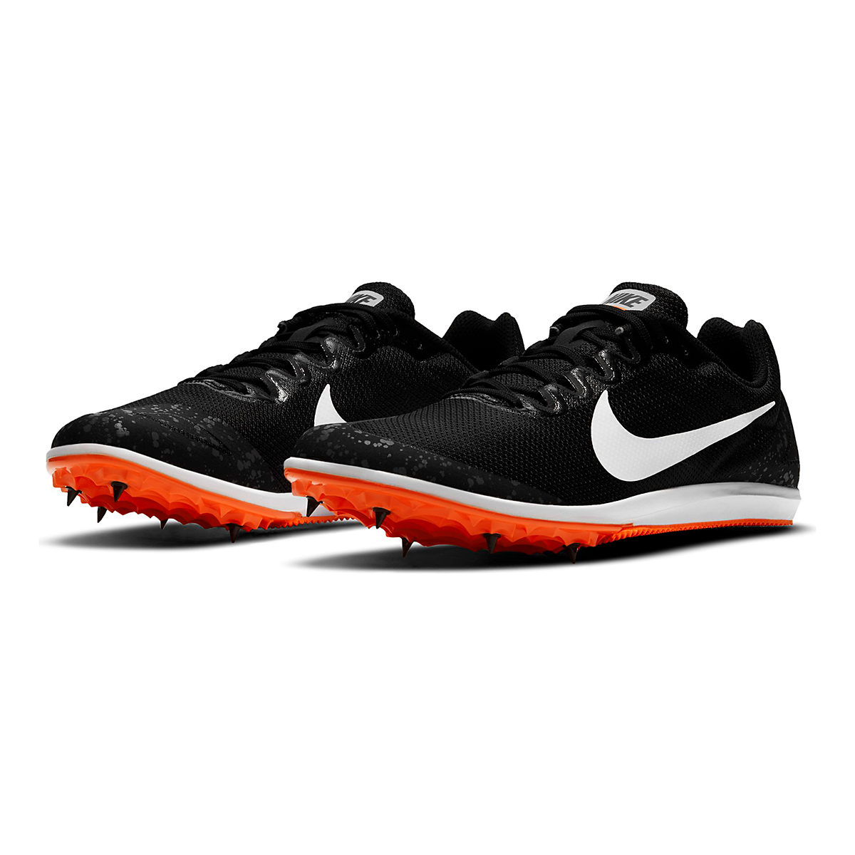 Nike Zoom Rival D 10 Track Spikes - Color: Black/White/Iron Grey/Hyper Crimson - Size: M4/W5.5 - Width: Regular, Black/White/Iron Grey/Hyper Crimson, large, image 4