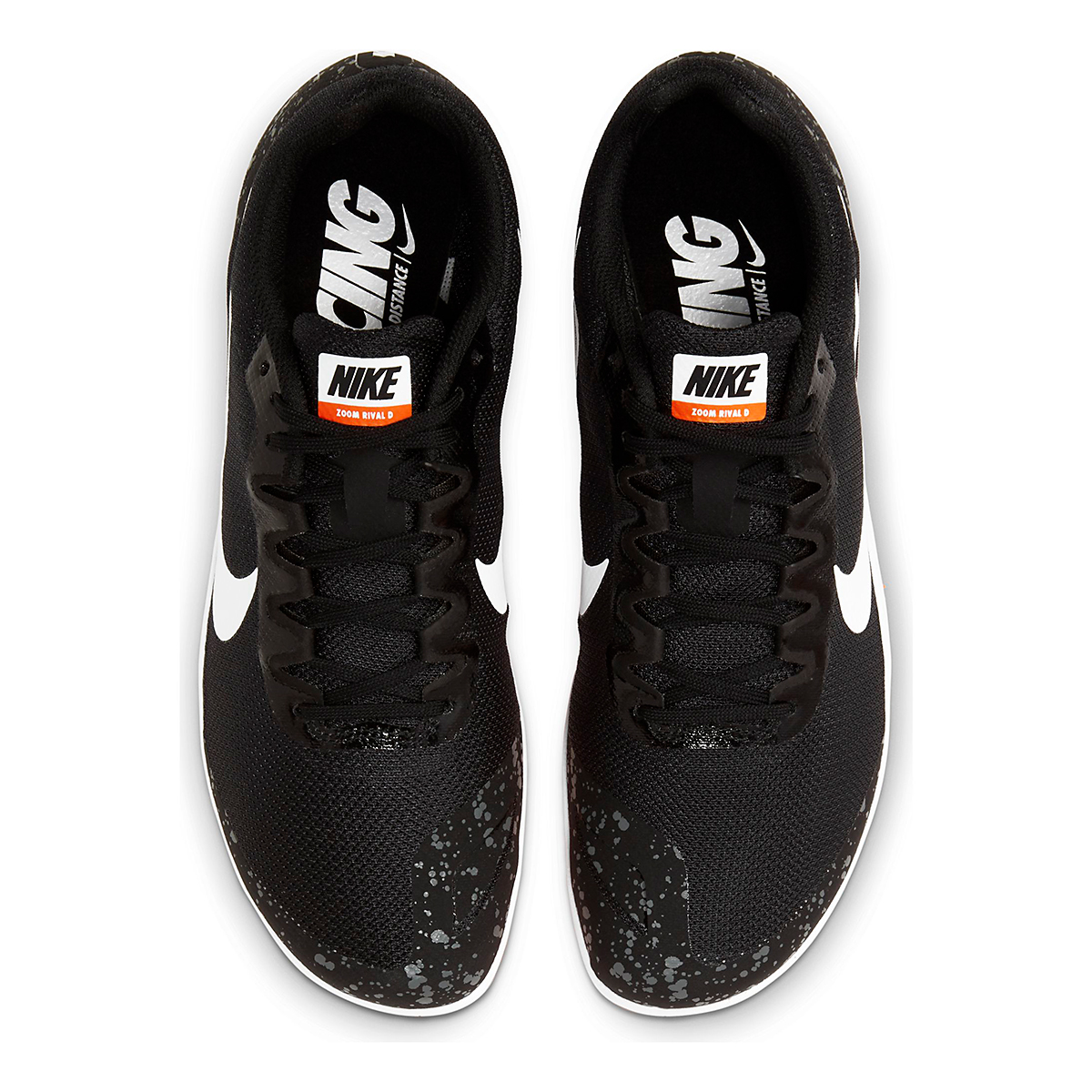 Nike Zoom Rival D 10 Track Spikes - Color: Black/White/Iron Grey/Hyper Crimson - Size: M4/W5.5 - Width: Regular, Black/White/Iron Grey/Hyper Crimson, large, image 5