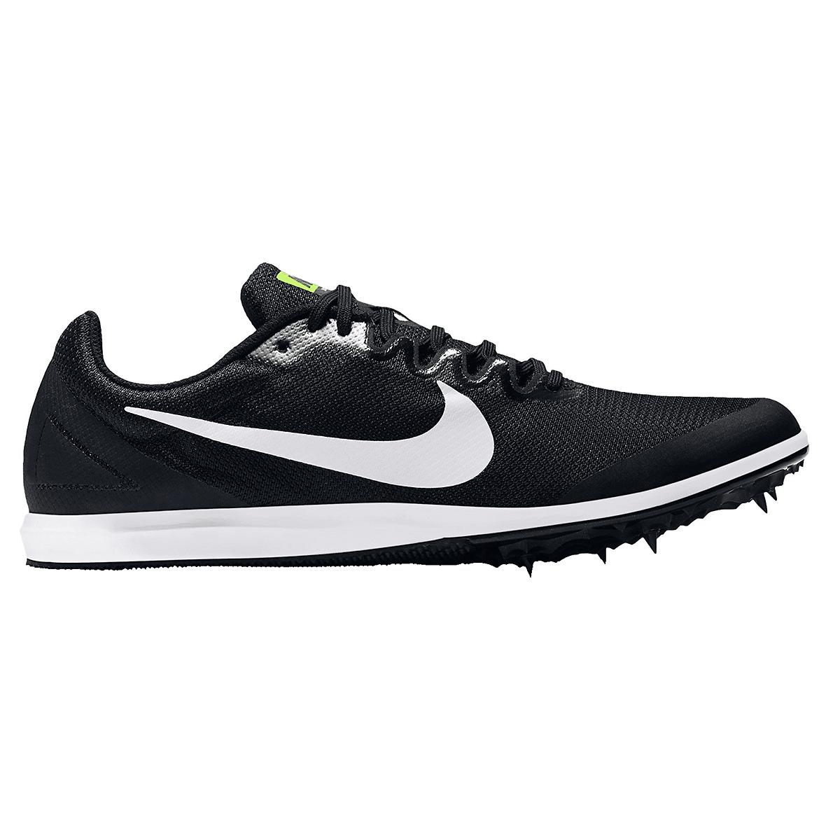 Nike Zoom Rival D Track Spikes - Color: Black/White/Volt - Size: 5 - Width: Regular, Black/White/Volt, large, image 1