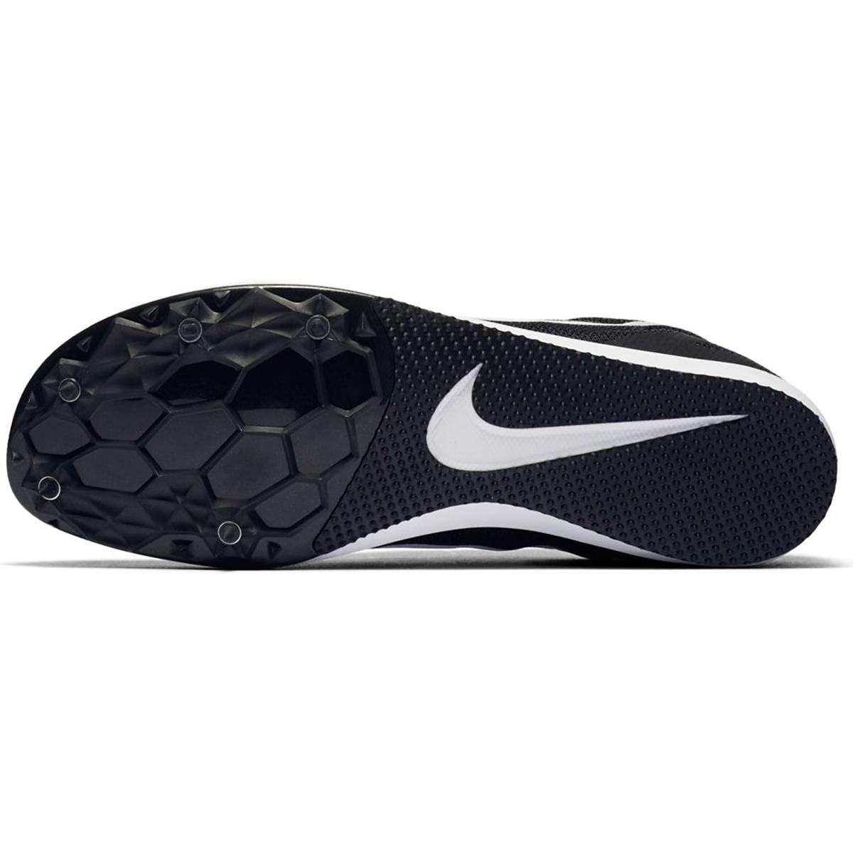 Nike Zoom Rival D Track Spikes - Color: Black/White/Volt - Size: 5 - Width: Regular, Black/White/Volt, large, image 2