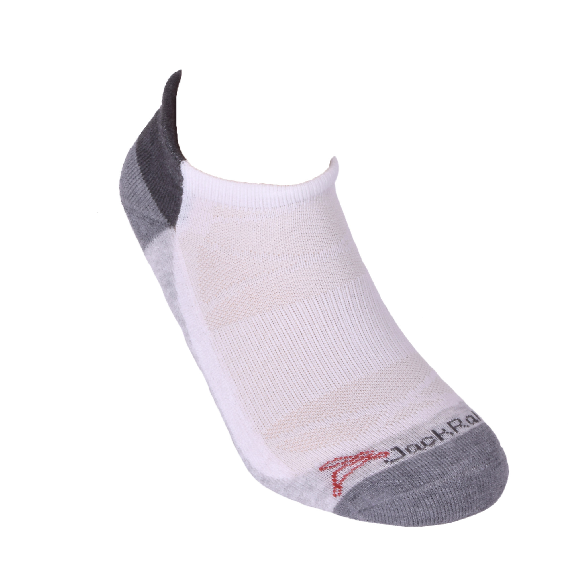 JackRabbit No Show Tab Cushion Performance Running Sock, , large, image 1
