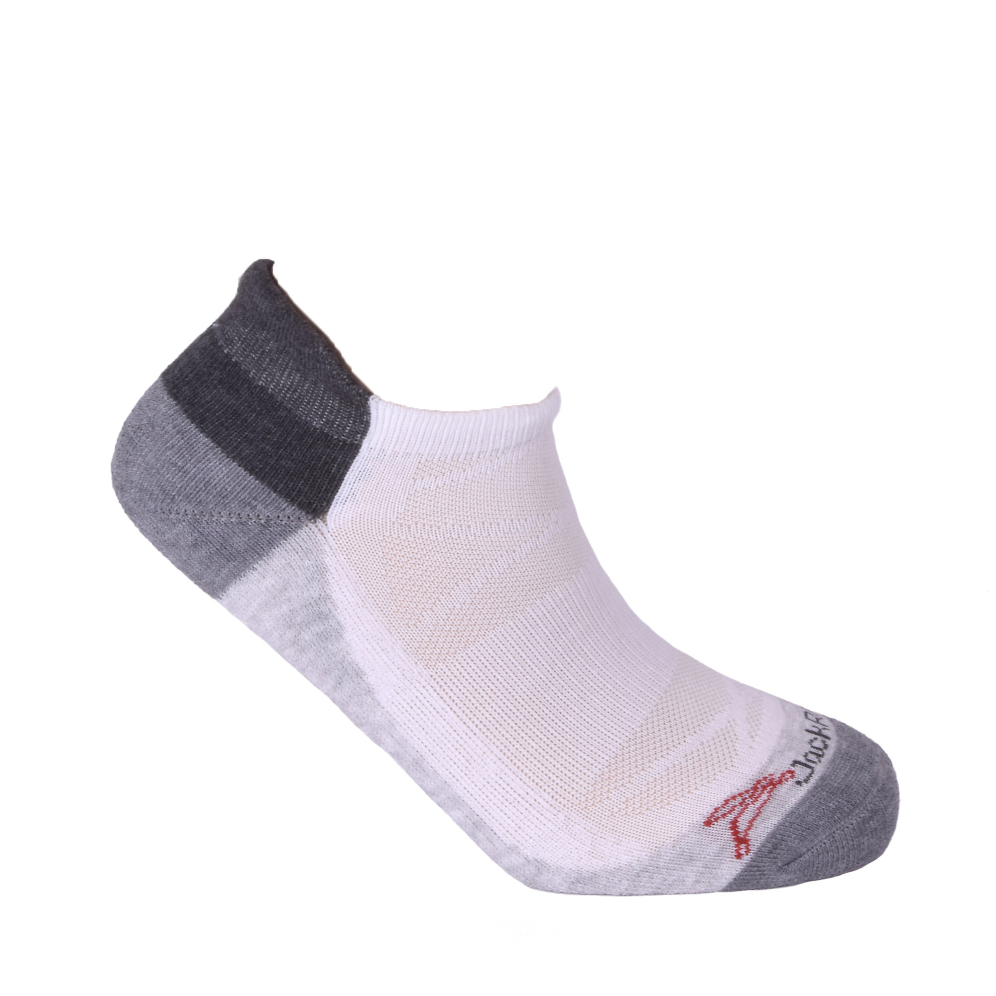 JackRabbit No Show Tab Cushion Performance Running Sock, , large, image 3