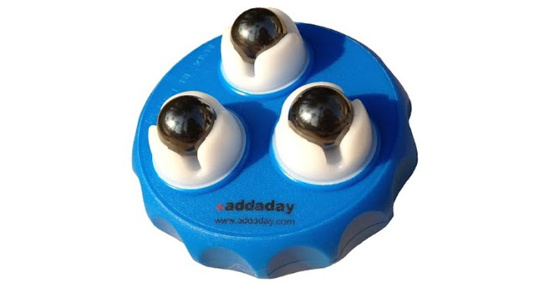 Addaday Marble Massage Roller - Color: Blue/Grey - Size: One Size, Blue/Grey, large, image 1