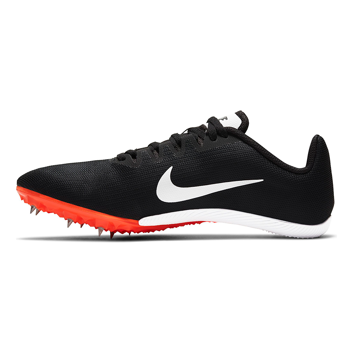 Nike Zoom Rival M 9 Track Spikes - Color: Black/White/Iron Grey/Hyper Crimson - Size: M4/W5.5 - Width: Regular, Black/White/Iron Grey/Hyper Crimson, large, image 2