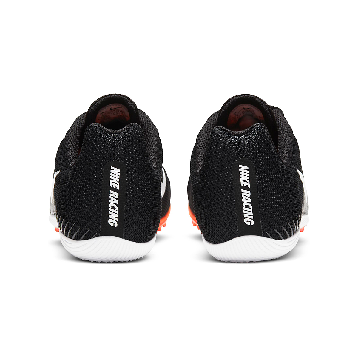 Nike Zoom Rival M 9 Track Spikes - Color: Black/White/Iron Grey/Hyper Crimson - Size: M4/W5.5 - Width: Regular, Black/White/Iron Grey/Hyper Crimson, large, image 4