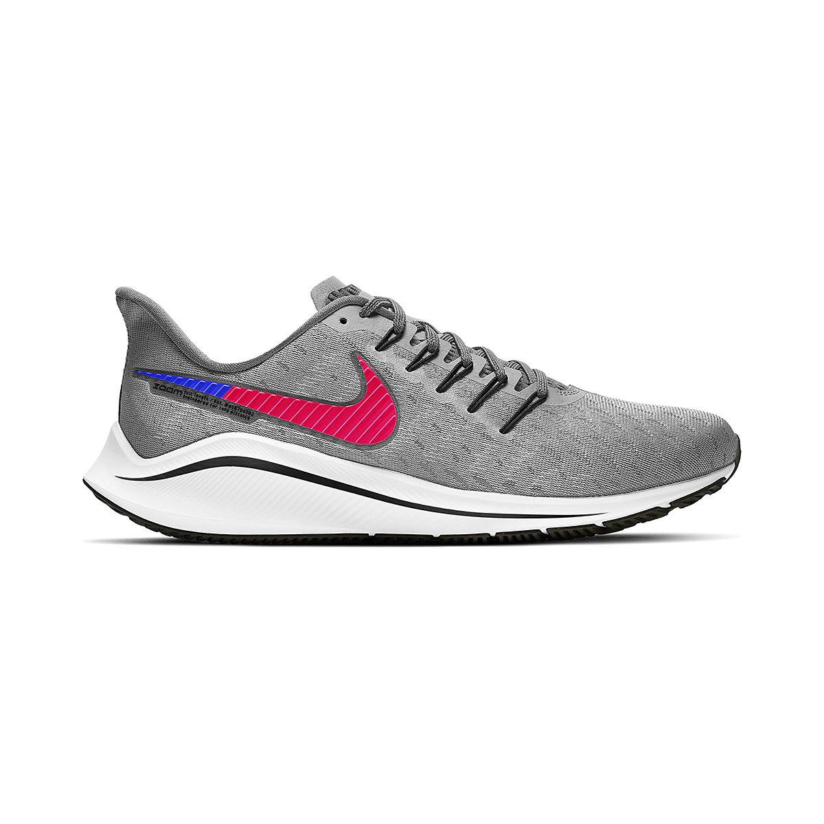 Men's Nike Vomero 14 Running Shoe - Color: Wolf Grey - Size: 6 - Width: Regular, Wolf Grey, large, image 1