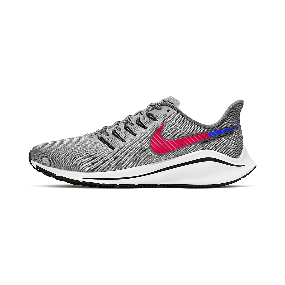 Men's Nike Vomero 14 Running Shoe - Color: Wolf Grey - Size: 6 - Width: Regular, Wolf Grey, large, image 2