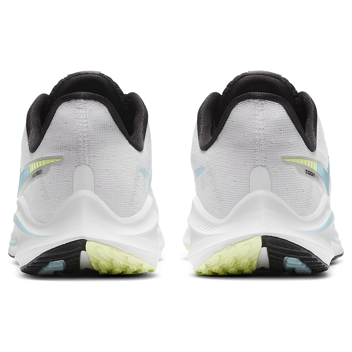 Women's Nike Vomero 14 Running Shoe - Color: White/Glacier Ice-Black-Pure Platinum - Size: 5 - Width: Regular, White/Glacier Ice-Black-Pure Platinum, large, image 5