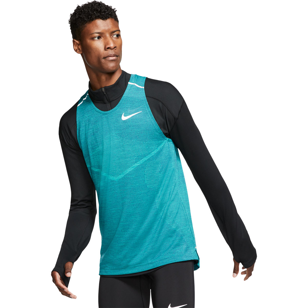 Men's Nike Techknit Ultra Tank Top - Color: Indigo Force - Size: XXL, Indigo Force, large, image 1