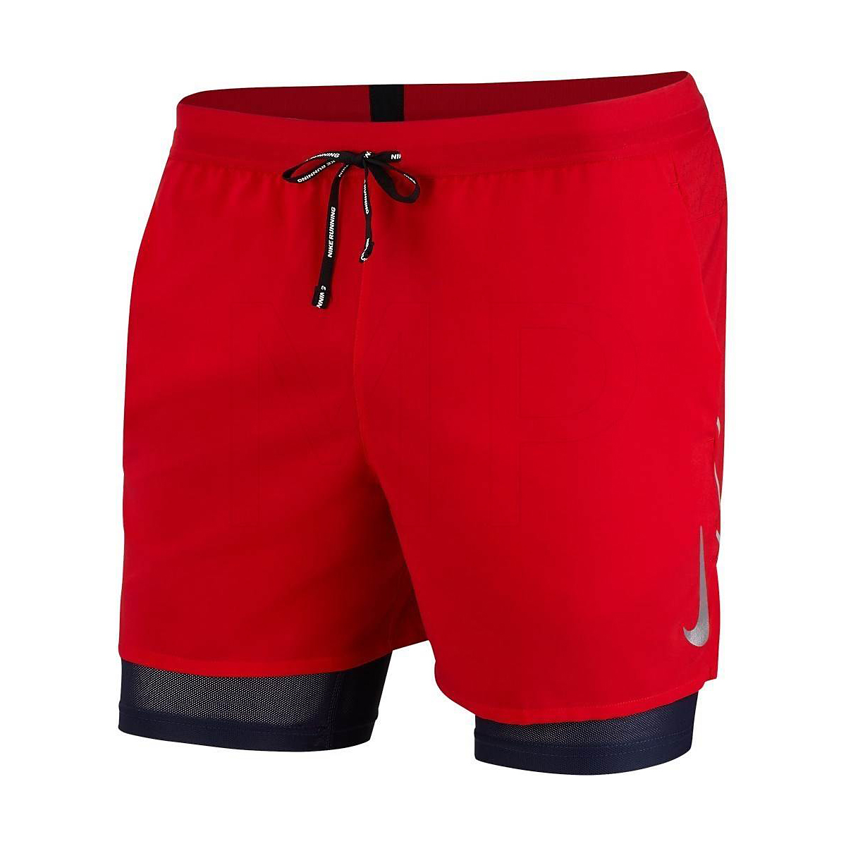 "Men's Nike Dri-FIT Flex Stride 7"" 2-in-1 Shorts - Color: University Red - Size: S, University Red, large, image 1"