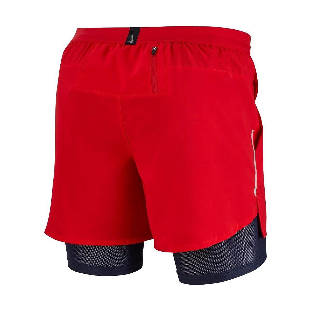 "Men's Nike Dri-FIT Flex Stride 7"" 2-in-1 Shorts - Color: University Red - Size: S, University Red, large, image 2"