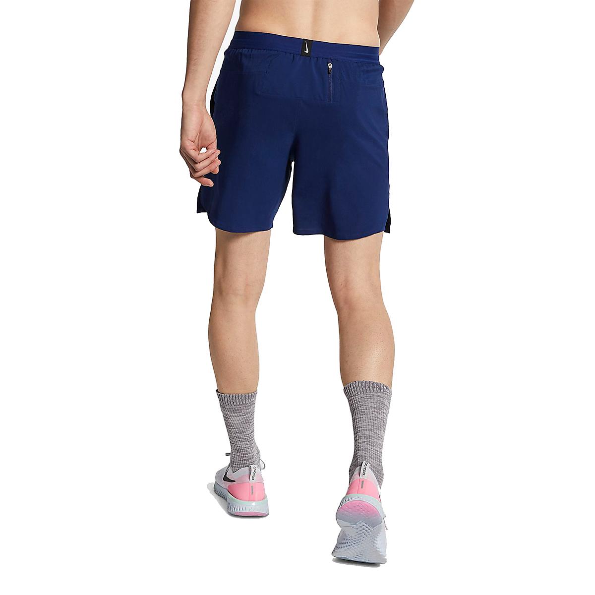 Men's Nike Dri-FIT Flex Stride 7 Inch 2-in-1 Short - Color: Blue Void/Blue Void/Reflective Silver - Size: S, Blue Void/Blue Void/Reflective Silver, large, image 2
