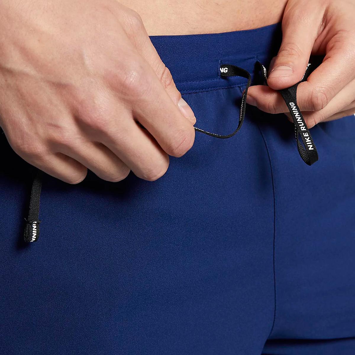 Men's Nike Dri-FIT Flex Stride 7 Inch 2-in-1 Short - Color: Blue Void/Blue Void/Reflective Silver - Size: S, Blue Void/Blue Void/Reflective Silver, large, image 3