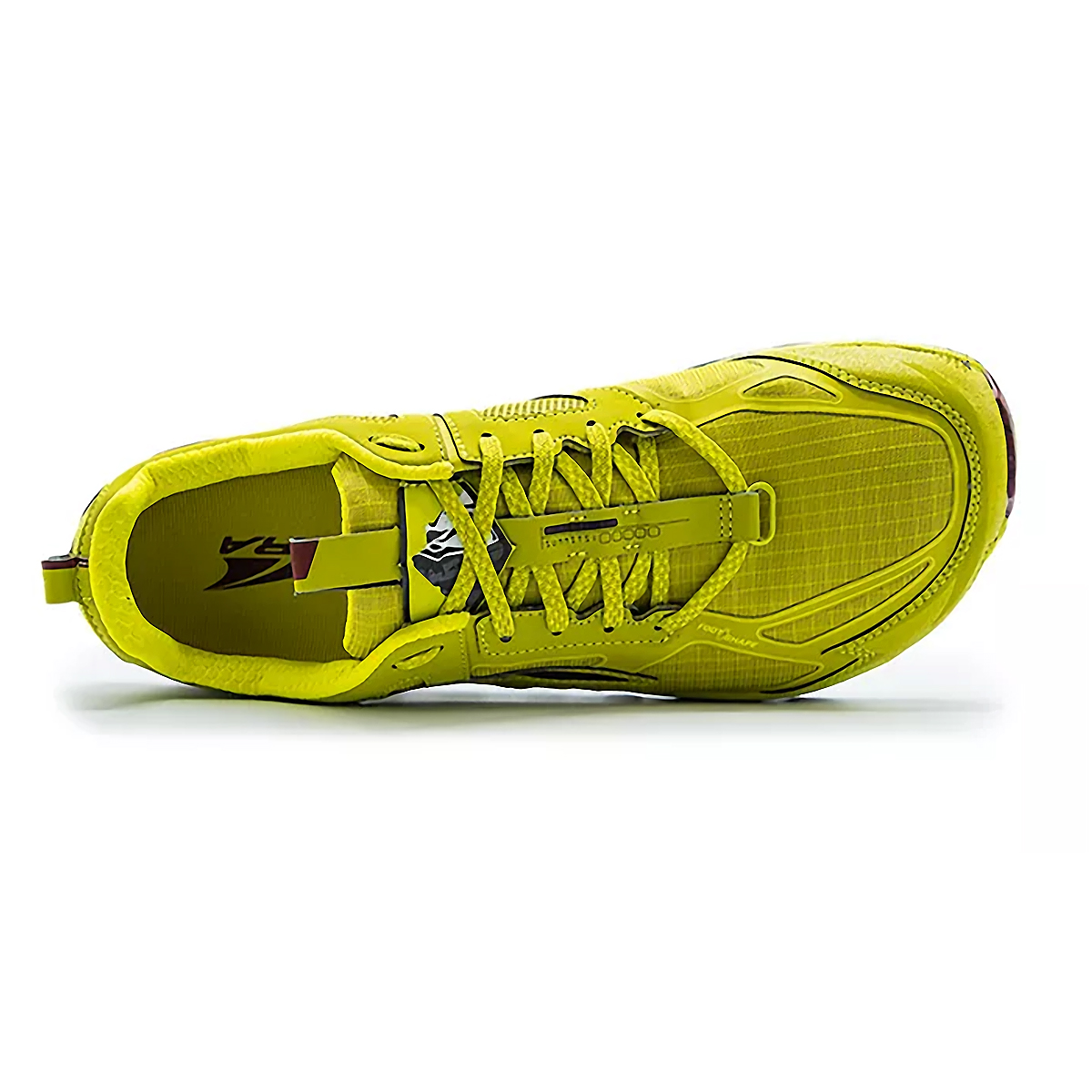 Men's Altra Lone Peak 4.5 Low Trail Running Shoe - Color: Lime/Red - Size: 7 - Width: Regular, Lime/Red, large, image 3