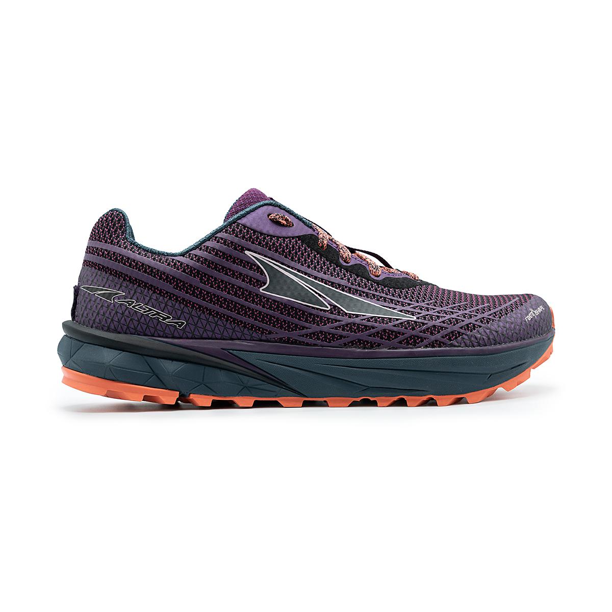 Women's Altra Timp 2 Running Shoe - Color: Plum/Coral - Size: 5.5 - Width: Regular, Plum/Coral, large, image 1