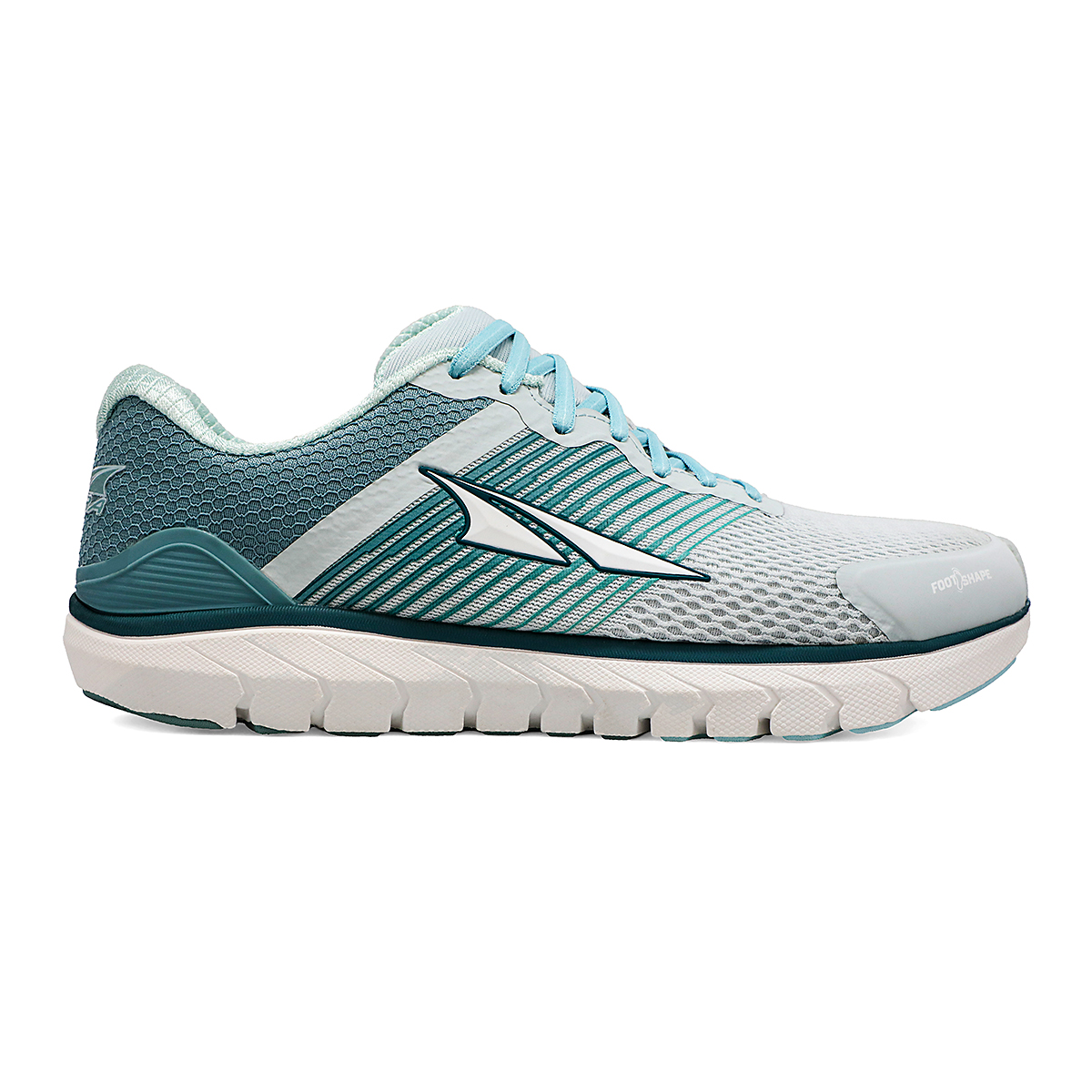 Women's Altra Provision 4 Running Shoe - Color: Ice Flow Blue - Size: 5.5 - Width: Regular, Ice Flow Blue, large, image 1