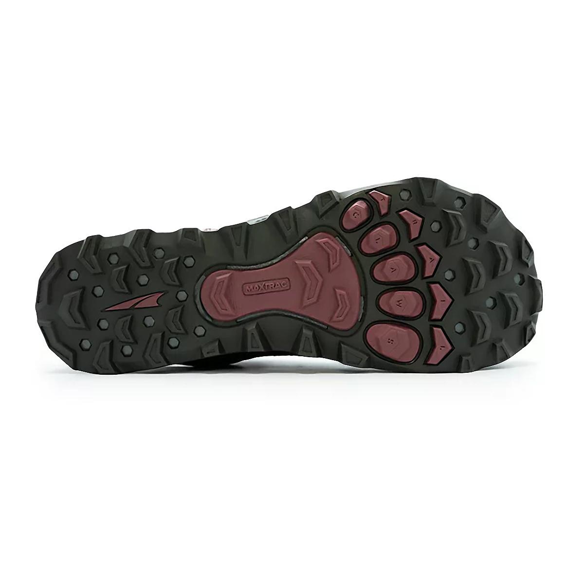 Women's Altra Lone Peak 4.5 Low Trail Running Shoe - Color: Dark Port - Size: 5.5 - Width: Regular, Dark Port, large, image 4
