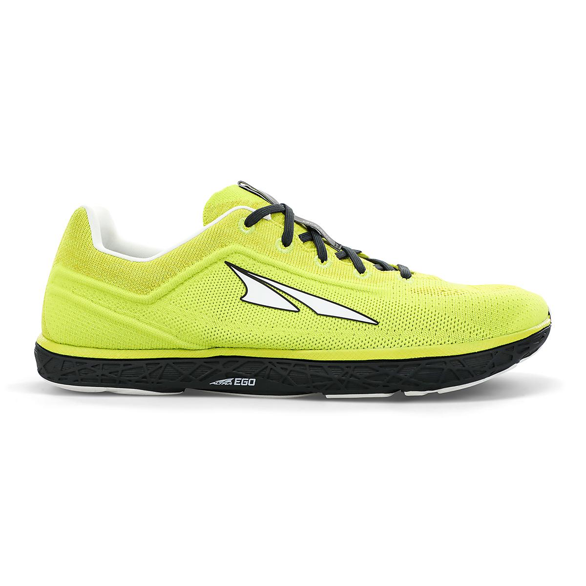 Men's Altra Escalante 2.5 Running Shoe - Color: Lime/Black - Size: 7 - Width: Regular, Lime/Black, large, image 1