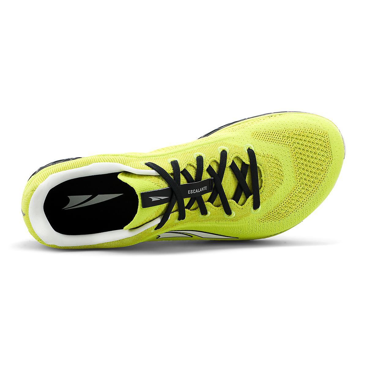 Men's Altra Escalante 2.5 Running Shoe - Color: Lime/Black - Size: 7 - Width: Regular, Lime/Black, large, image 3