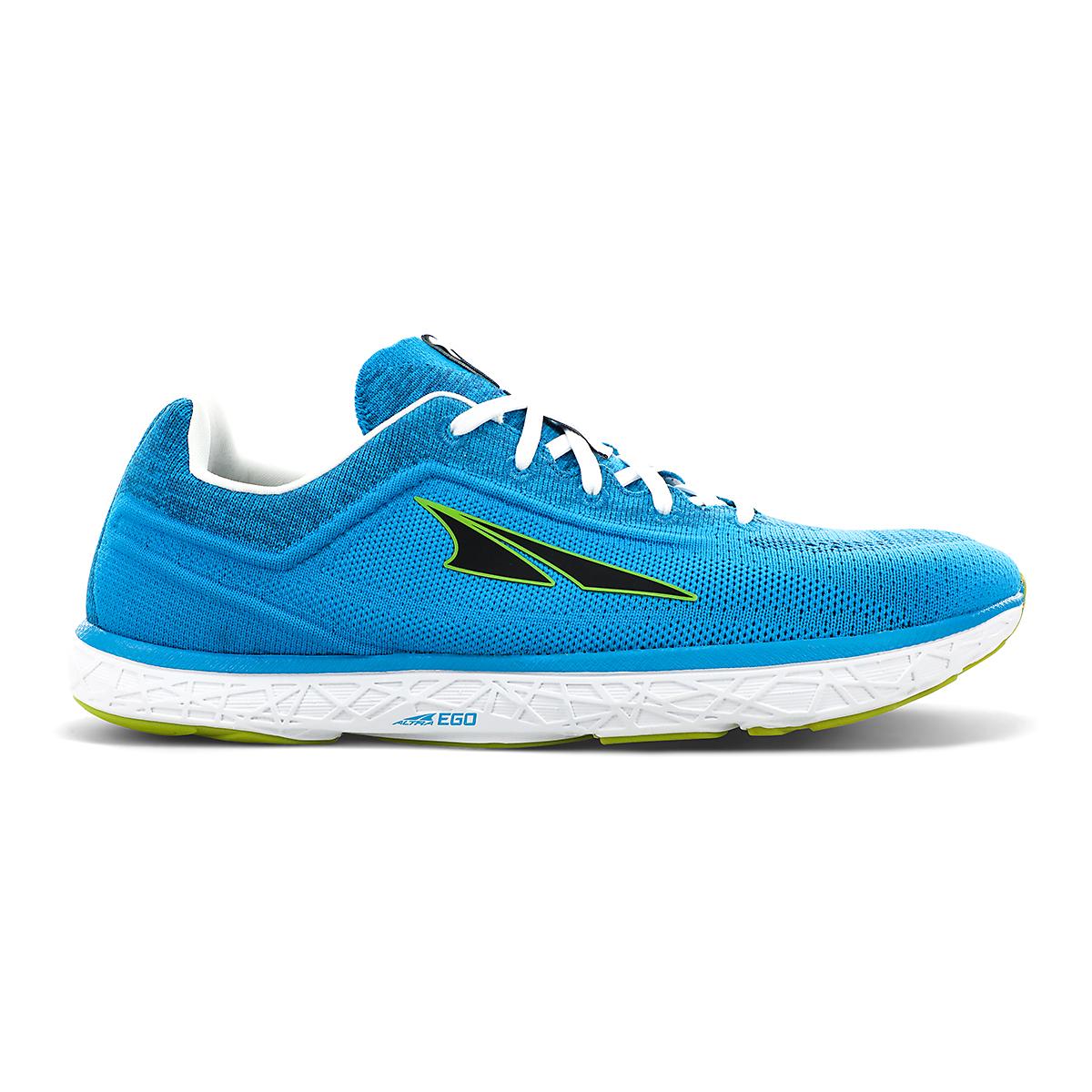Men's Altra Escalante 2.5 Running Shoe - Color: Blue/Lime - Size: 7 - Width: Regular, Blue/Lime, large, image 1