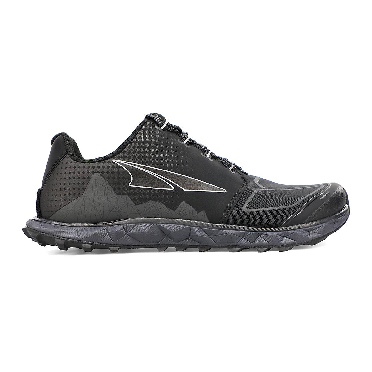Men's Altra Superior 4.5 Trail Running Shoe - Color: Black - Size: 7 - Width: Regular, Black, large, image 1