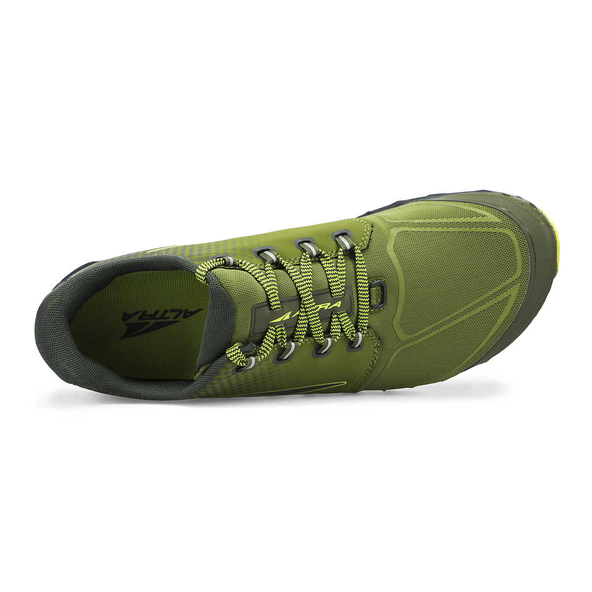 Men's Altra Superior 4.5 Trail Running Shoe - Color: Green/Lime - Size: 7 - Width: Regular, Green/Lime, large, image 3