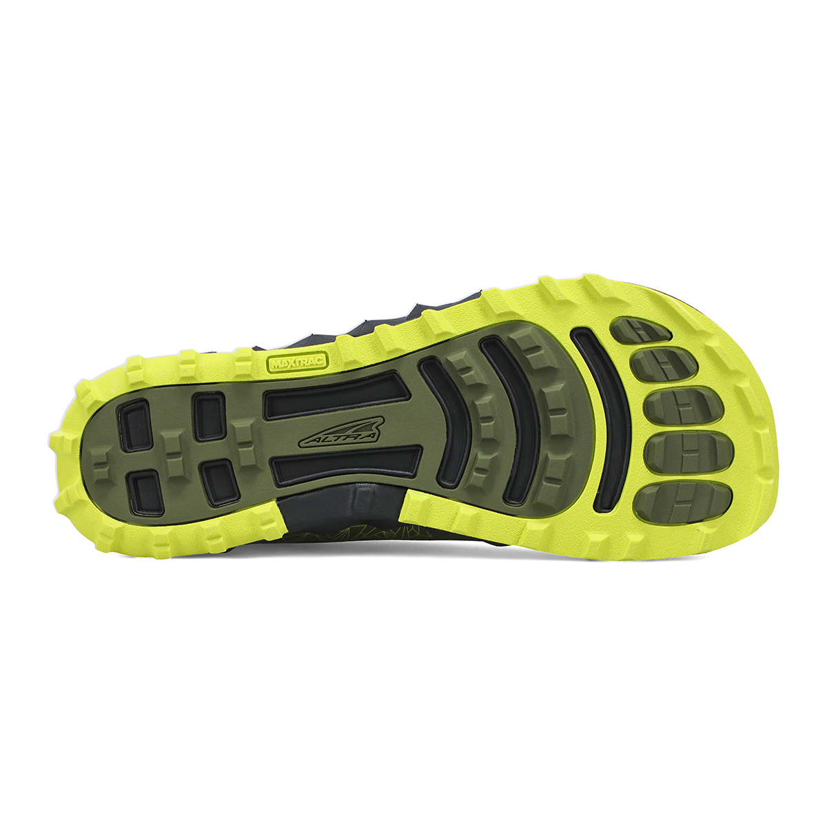 Men's Altra Superior 4.5 Trail Running Shoe - Color: Green/Lime - Size: 7 - Width: Regular, Green/Lime, large, image 4
