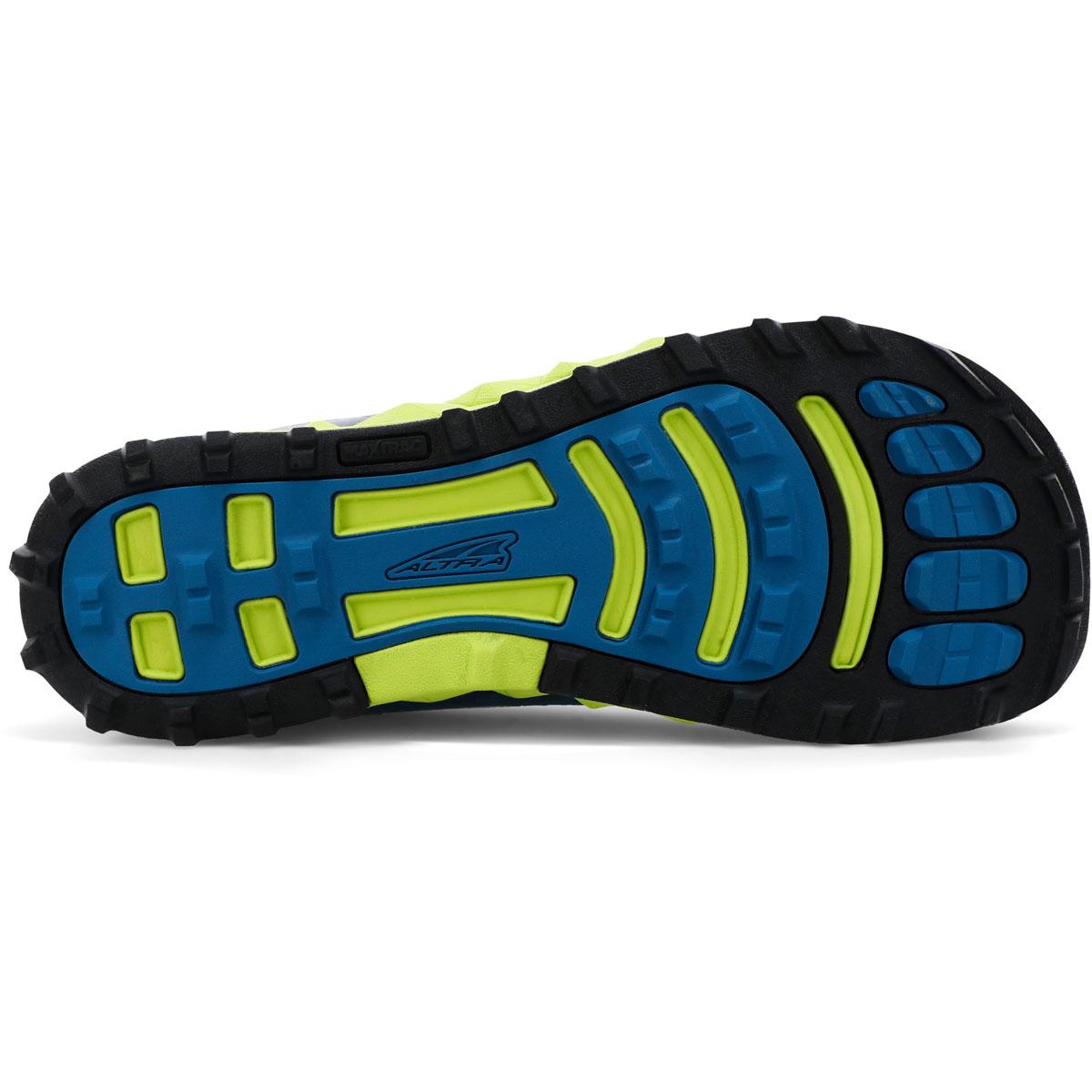 Men's Altra Superior 4.5 Trail Running Shoe - Color: Blue/Lime - Size: 7 - Width: Regular, Blue/Lime, large, image 4