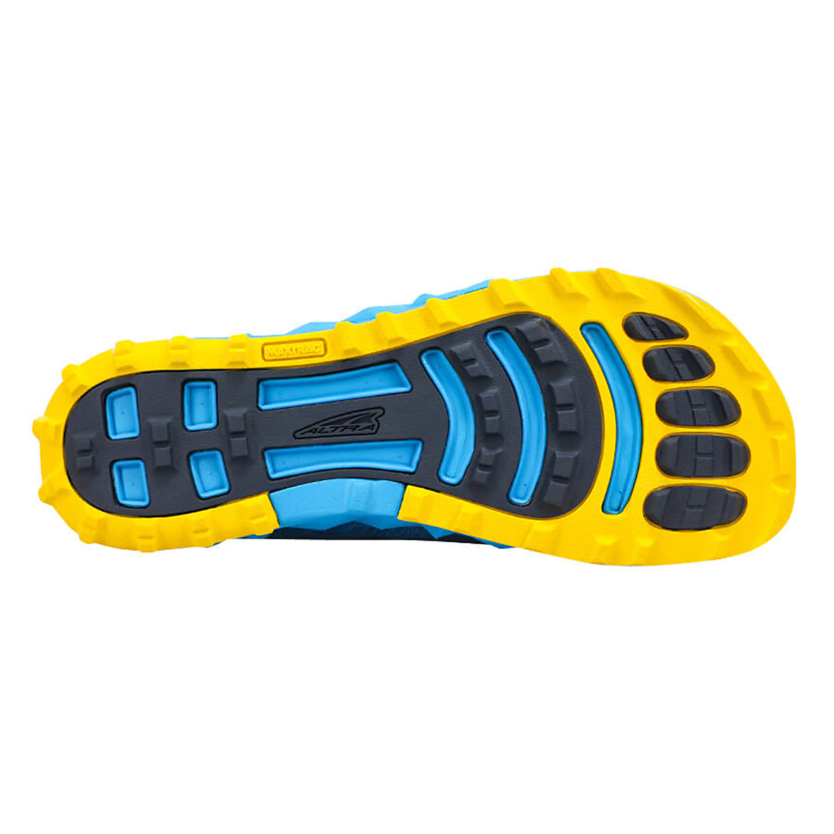 Men's Altra Superior 4.5 Trail Running Shoe - Color: Blue/Yellow - Size: 7 - Width: Regular, Blue/Yellow, large, image 3