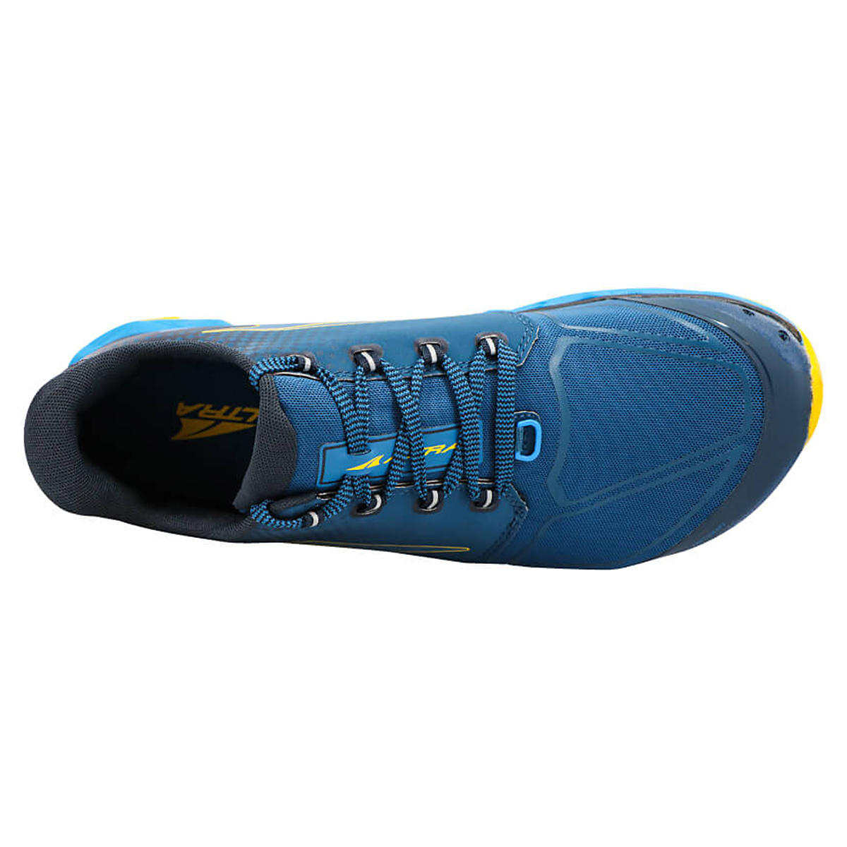 Men's Altra Superior 4.5 Trail Running Shoe - Color: Blue/Yellow - Size: 7 - Width: Regular, Blue/Yellow, large, image 4
