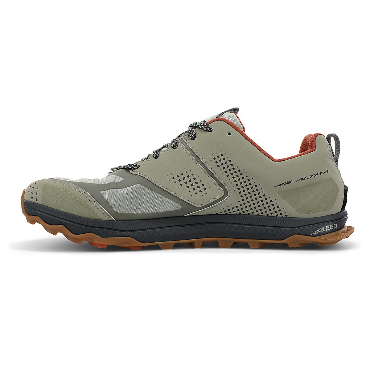 Men's Altra Lone Peak 5 Trail Running Shoe - Color: Khaki - Size: 7 - Width: Regular, Khaki, large, image 2