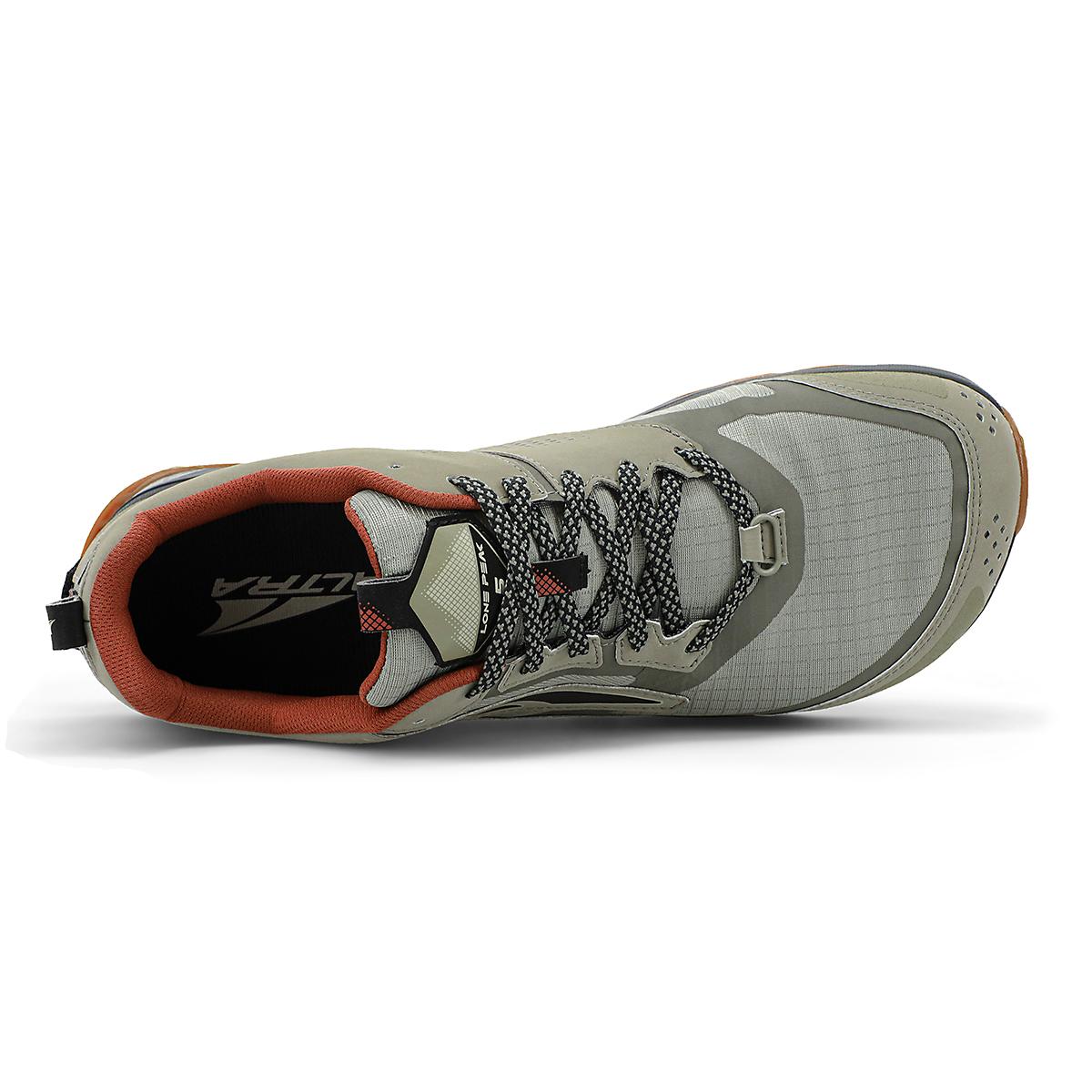 Men's Altra Lone Peak 5 Trail Running Shoe - Color: Khaki - Size: 7 - Width: Regular, Khaki, large, image 3