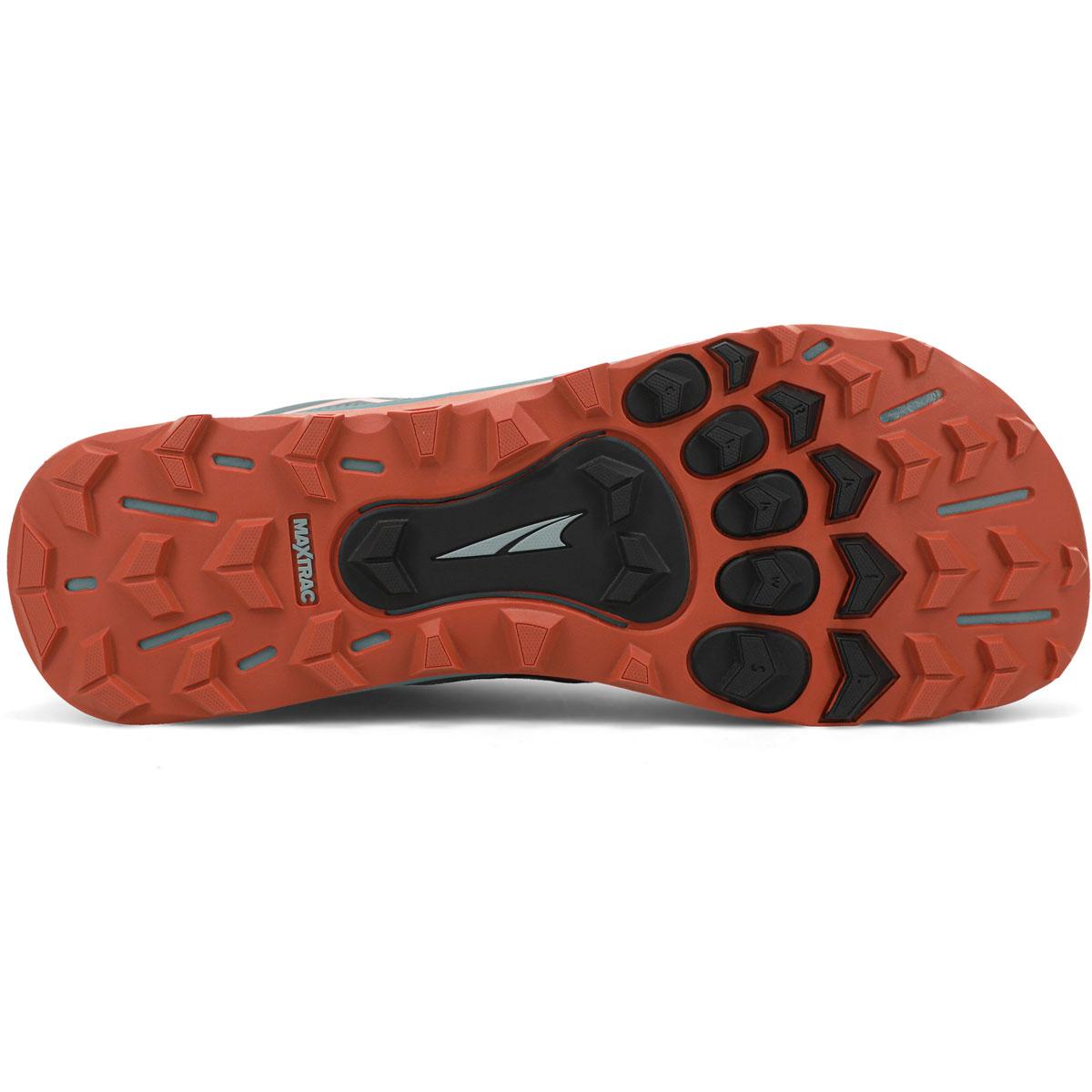 Men's Altra Lone Peak 5 Trail Running Shoe - Color: Gray/Orange - Size: 7 - Width: Regular, Gray/Orange, large, image 3
