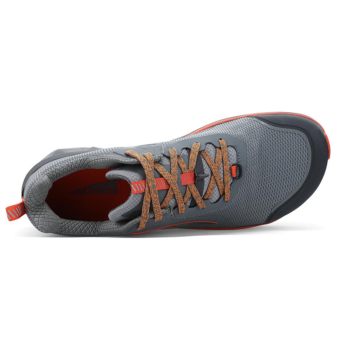 Men's Altra Timp 3 Trail Running Shoe - Color: Gray/Orange - Size: 7 - Width: Regular, Gray/Orange, large, image 3