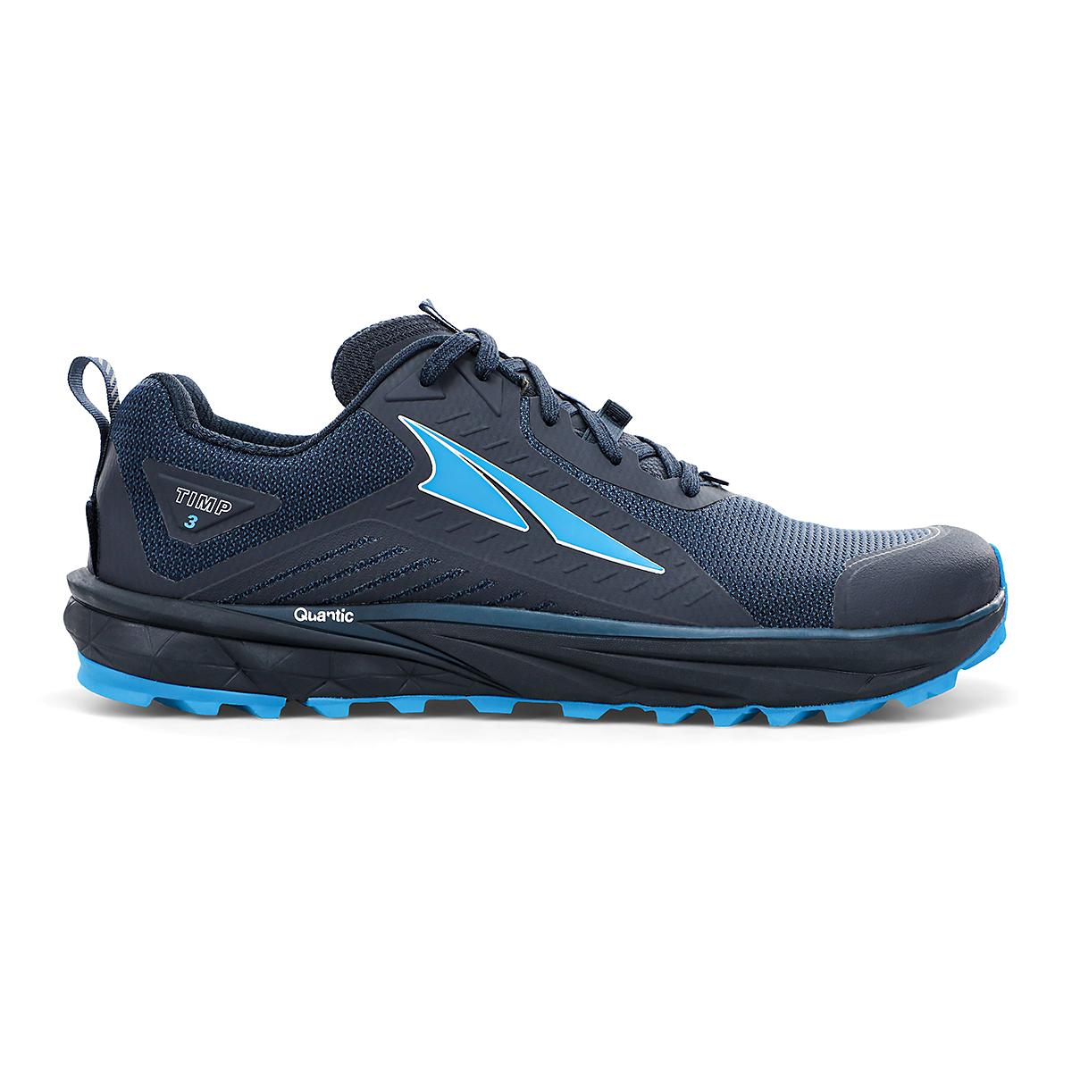 Men's Altra Timp 3 Trail Running Shoe - Color: Dark Blue - Size: 7 - Width: Regular, Dark Blue, large, image 1