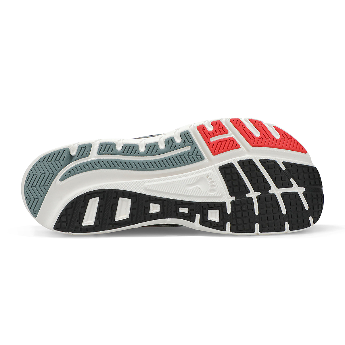 Men's Altra Provision 5 Running Shoe - Color: Light Gray/Red - Size: 7 - Width: Regular, Light Gray/Red, large, image 4