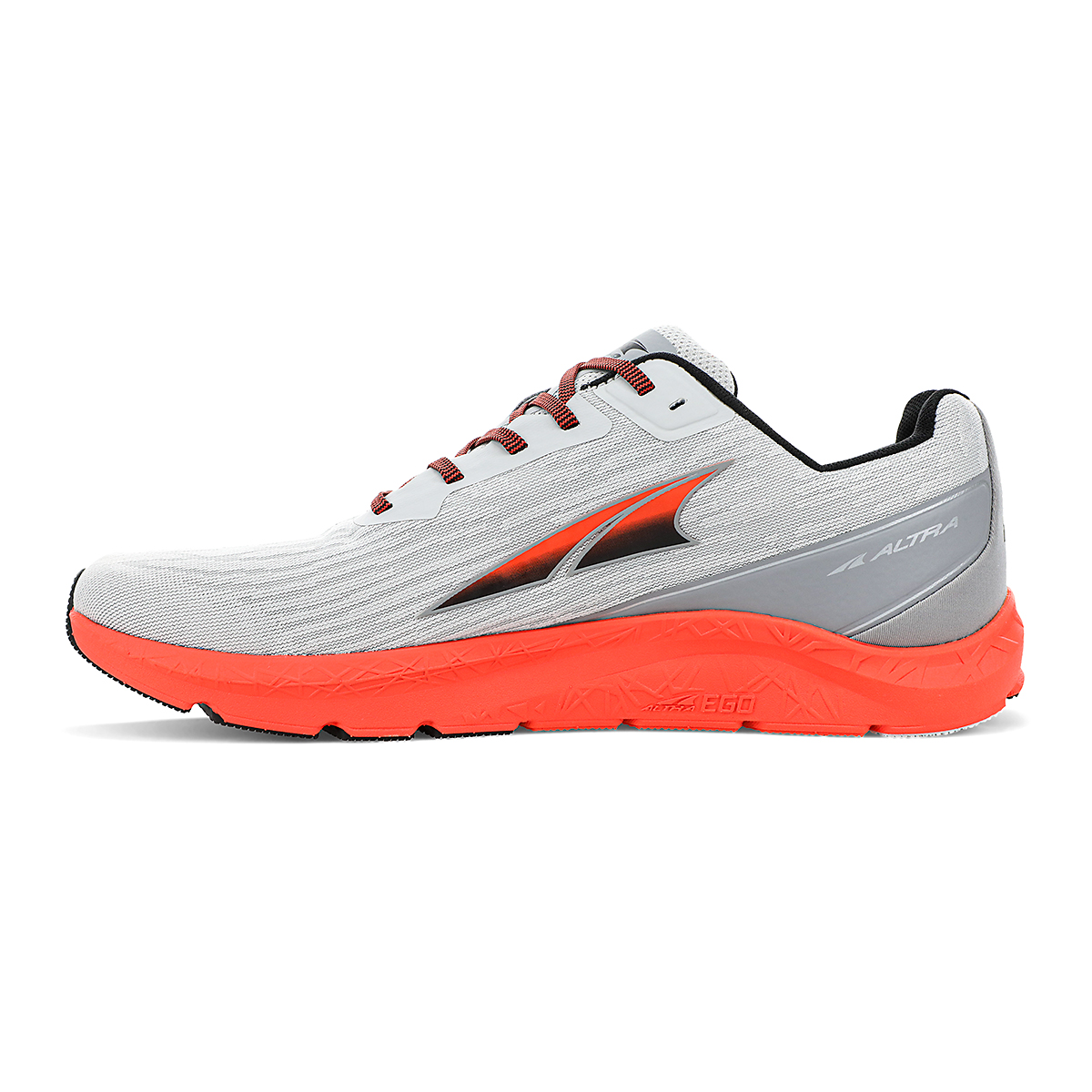 Men's Altra Rivera Running Shoe - Color: Gray/Orange - Size: 7 - Width: Regular, Gray/Orange, large, image 2