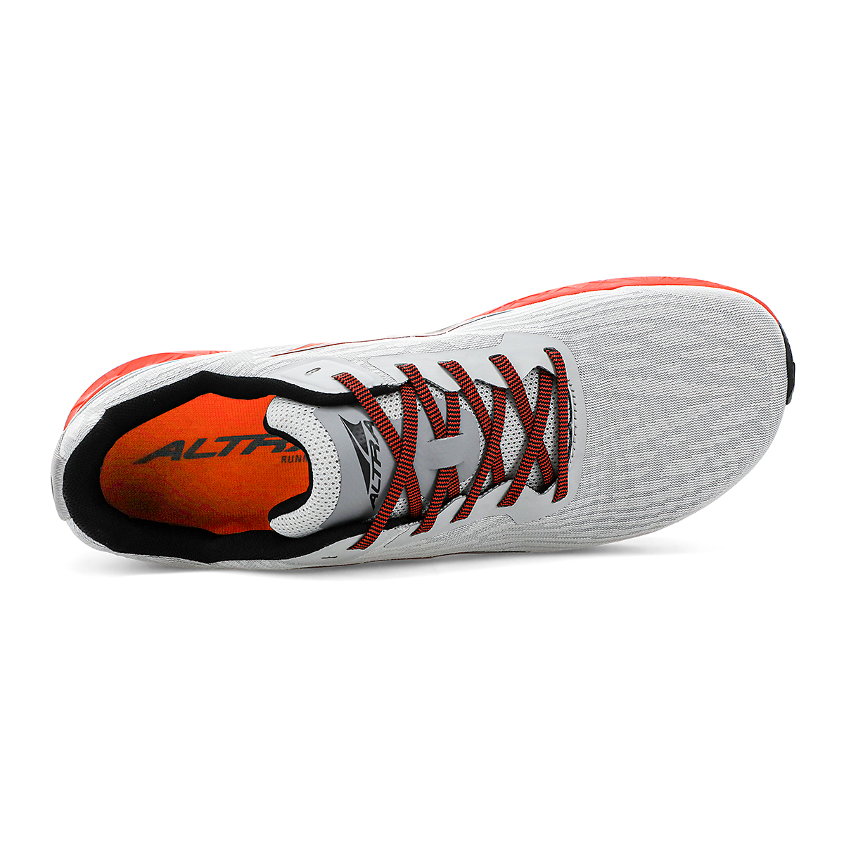 Men's Altra Rivera Running Shoe - Color: Gray/Orange - Size: 7 - Width: Regular, Gray/Orange, large, image 3