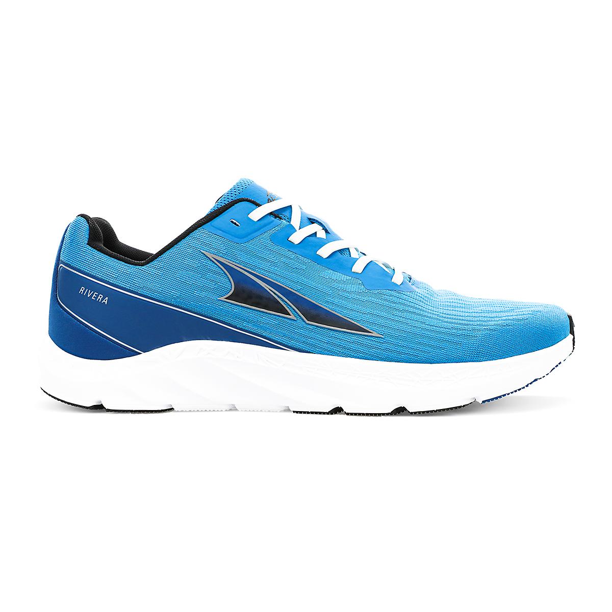 Men's Altra Rivera Running Shoe - Color: Light Blue - Size: 7 - Width: Regular, Light Blue, large, image 1