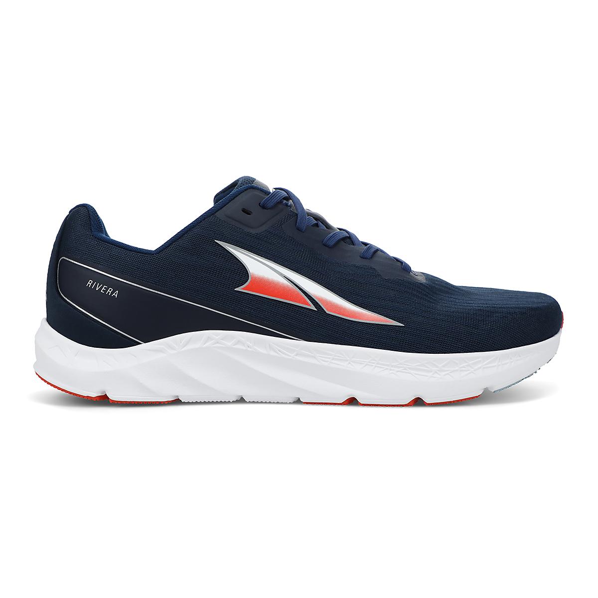 Men's Altra Rivera Running Shoe - Color: Navy - Size: 7 - Width: Regular, Navy, large, image 1