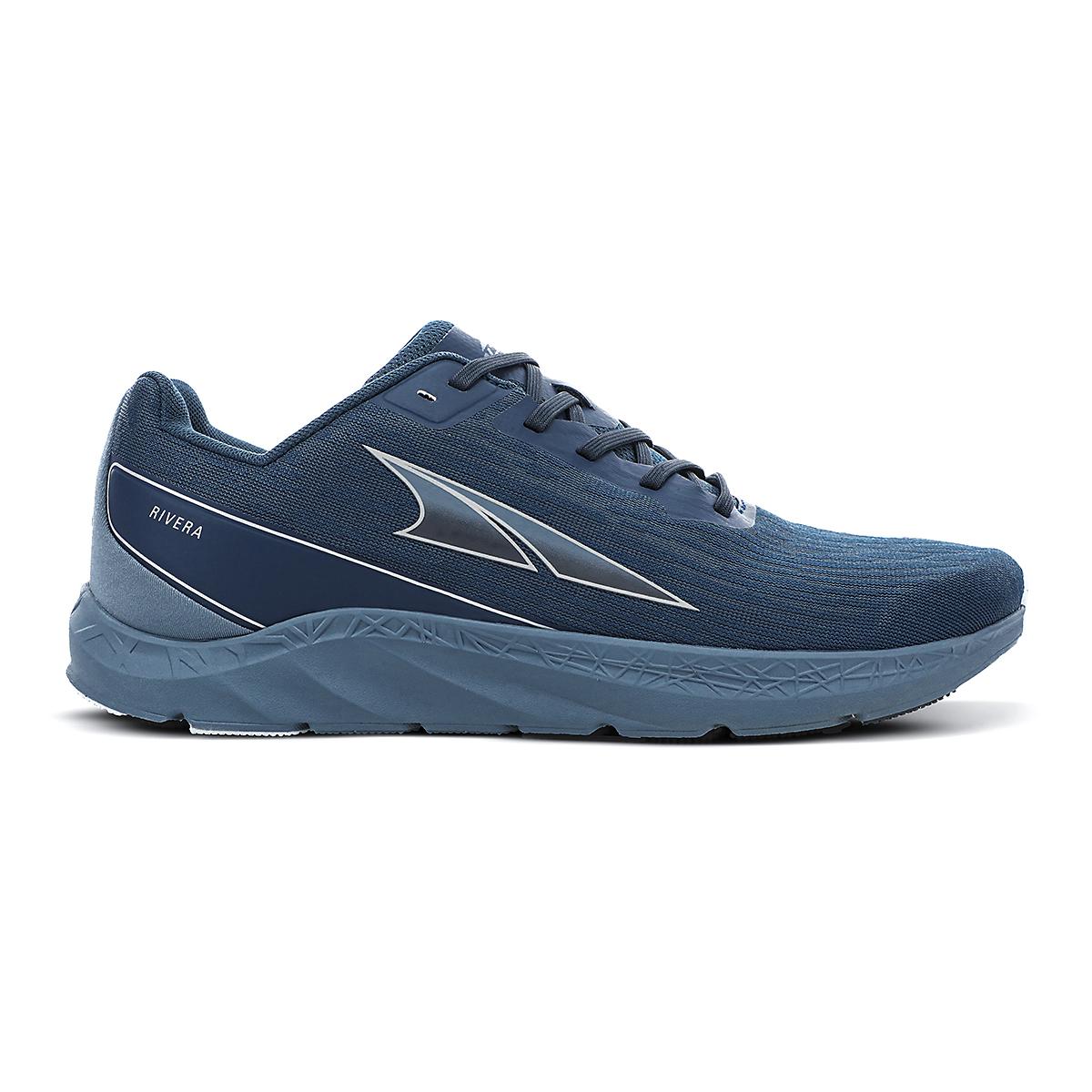 Men's Altra Rivera Running Shoe - Color: Majolica Blue - Size: 7 - Width: Regular, Majolica Blue, large, image 1