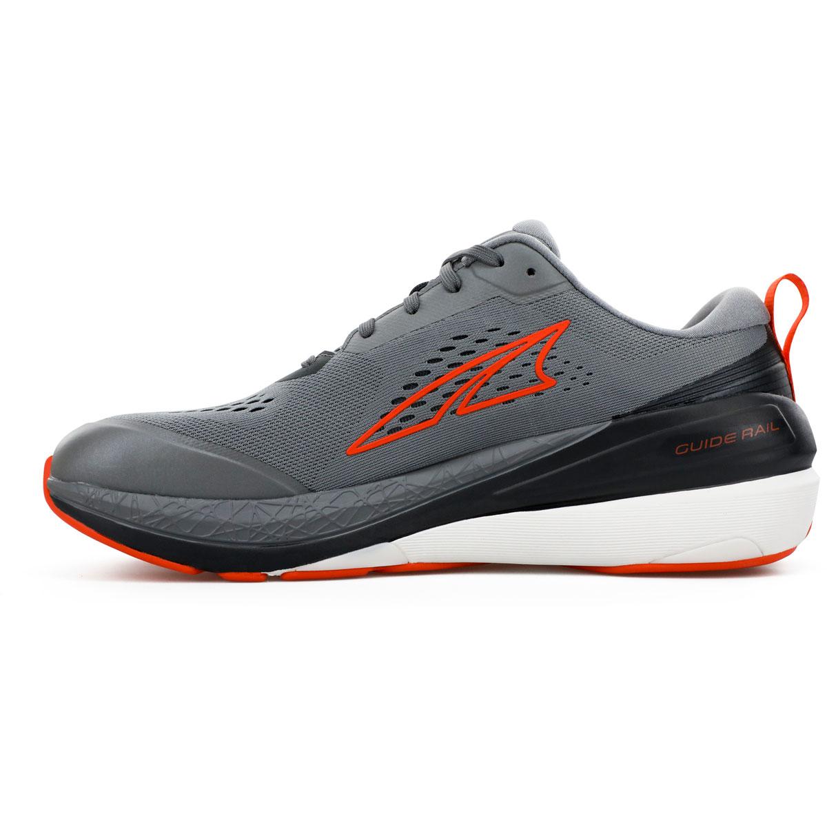 Men's Altra Paradigm 5 Running Shoe - Color: Gray/Orange - Size: 7 - Width: Regular, Gray/Orange, large, image 2