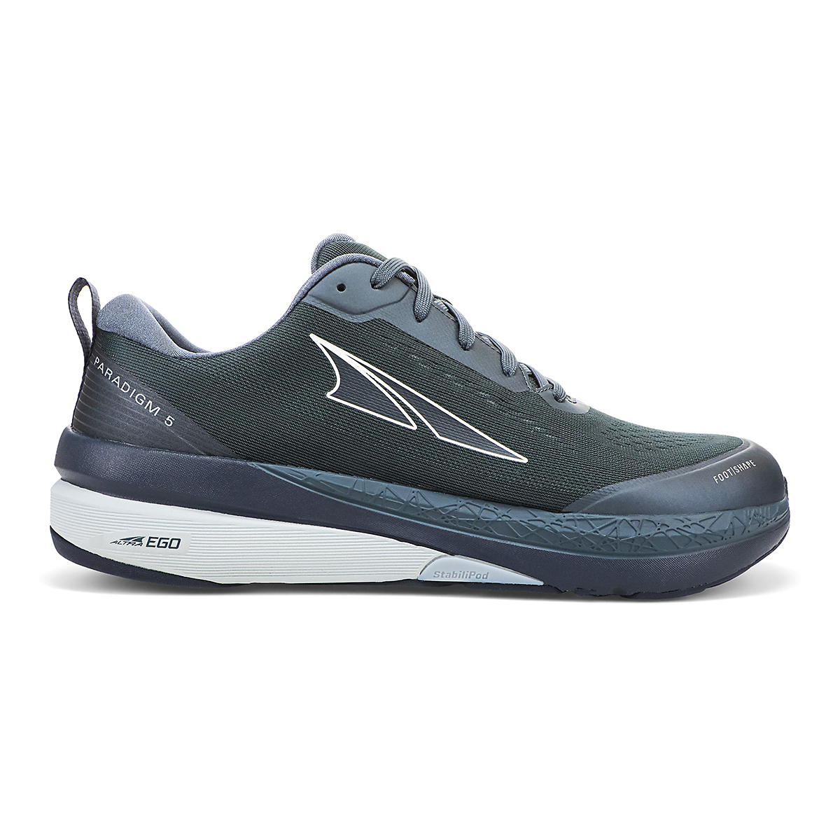 Men's Altra Paradigm 5 Running Shoe - Color: Dark Blue - Size: 7 - Width: Regular, Dark Blue, large, image 1