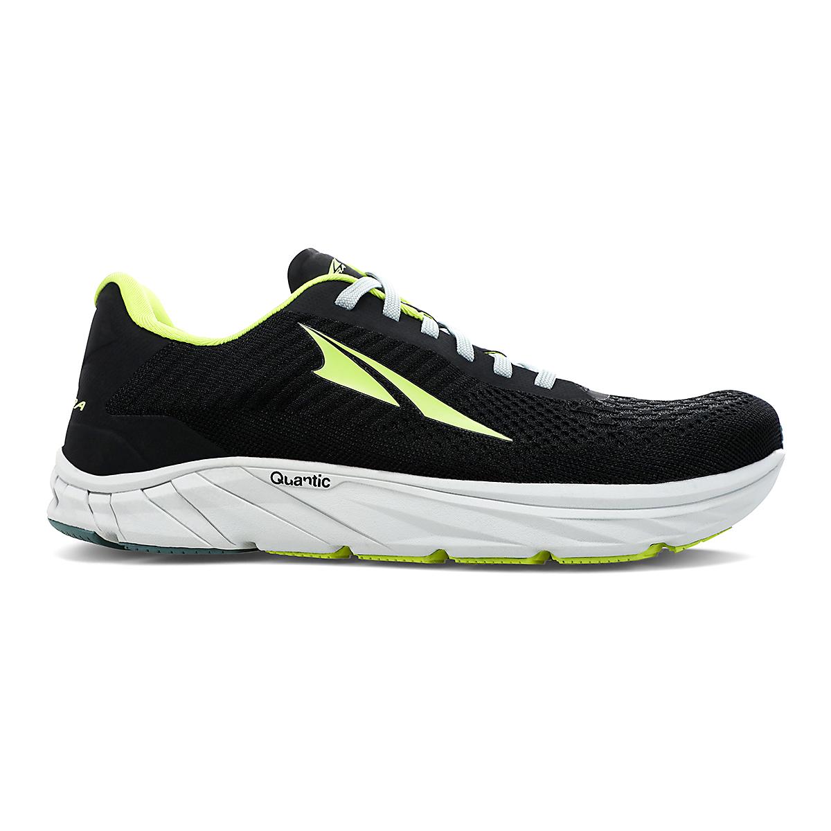 Men's Altra Torin 4.5 Plush Running Shoe - Color: Black/Lime - Size: 7 - Width: Regular, Black/Lime, large, image 1