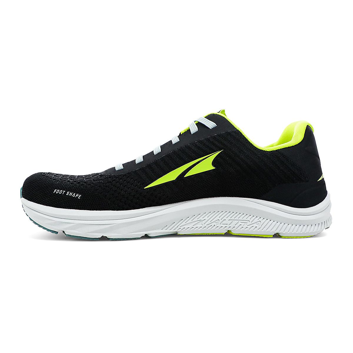 Men's Altra Torin 4.5 Plush Running Shoe - Color: Black/Lime - Size: 7 - Width: Regular, Black/Lime, large, image 2