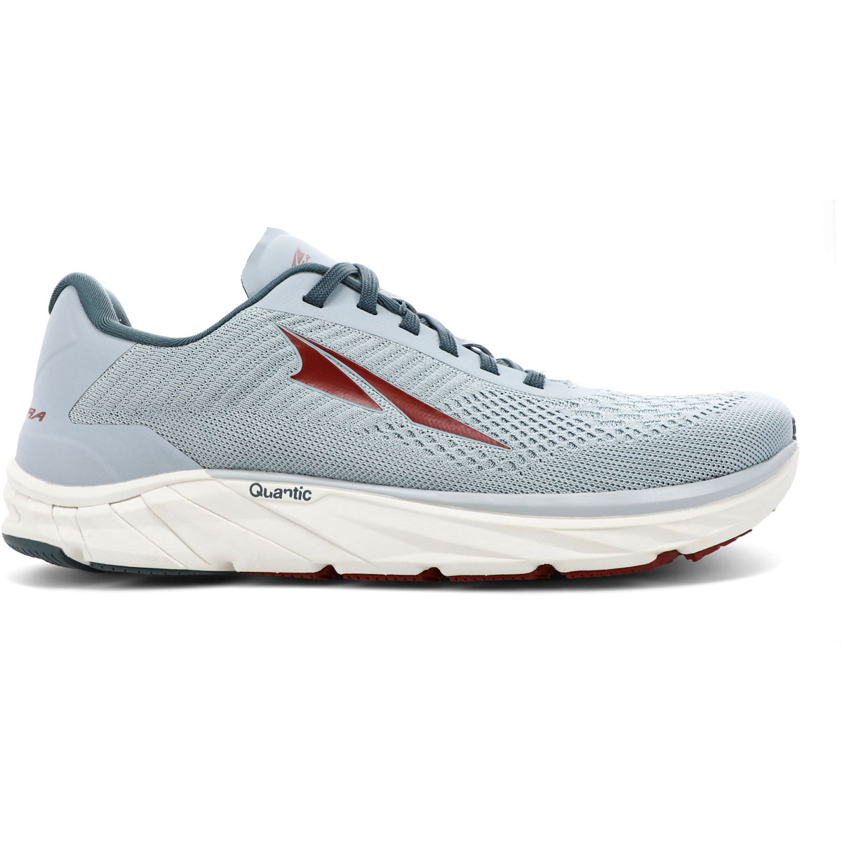 Men's Altra Torin 4.5 Plush Running Shoe - Color: Light Gray/Red - Size: 7 - Width: Regular, Light Gray/Red, large, image 1