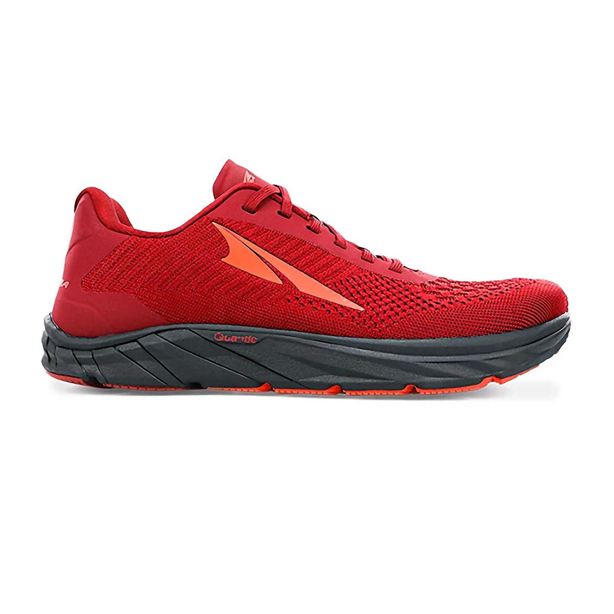 Men's Altra Torin 4.5 Plush Running Shoe - Color: Dark Red - Size: 7 - Width: Regular, Dark Red, large, image 1
