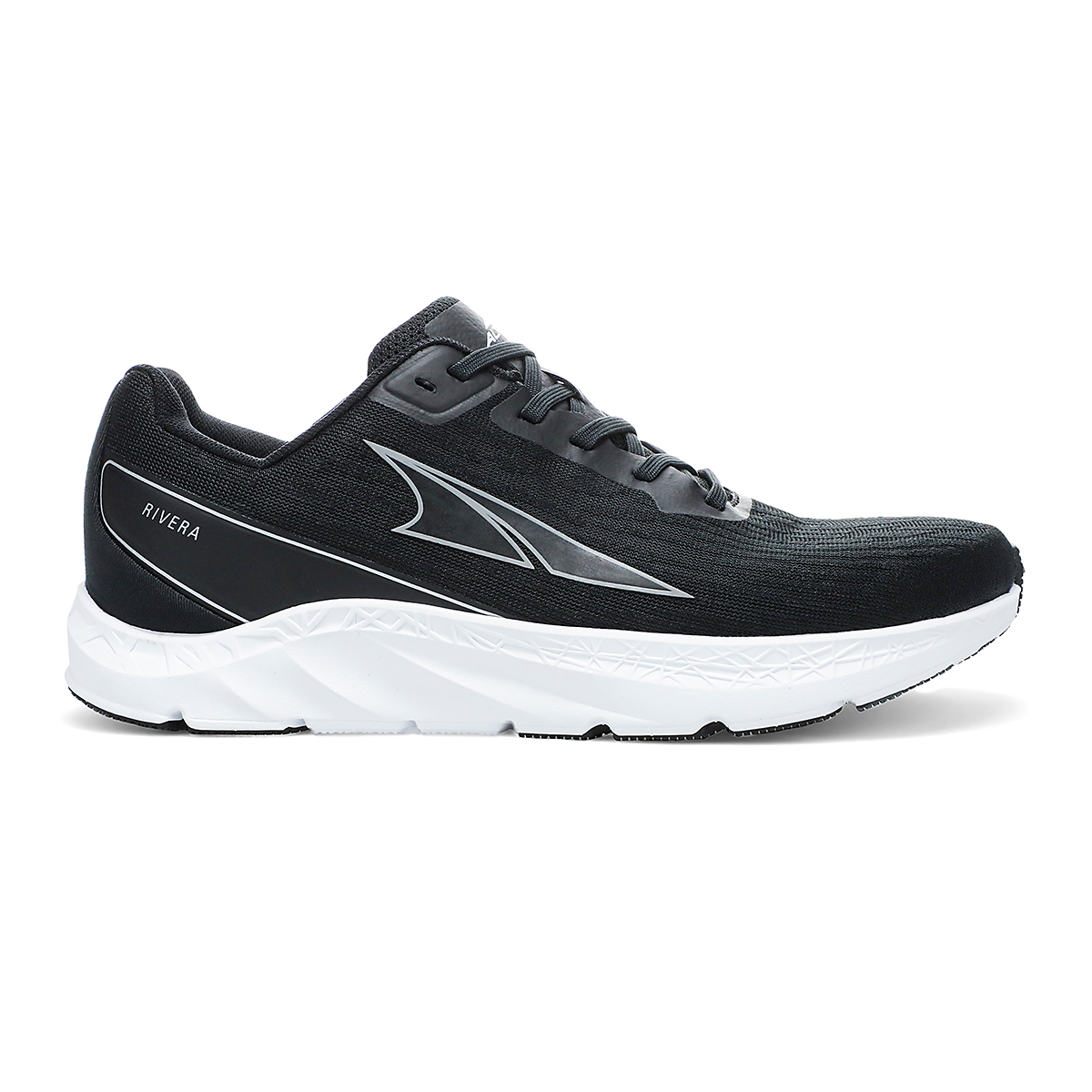 Women's Altra Rivera Running Shoe - Color: Black/White - Size: 5.5 - Width: Regular, Black/White, large, image 1