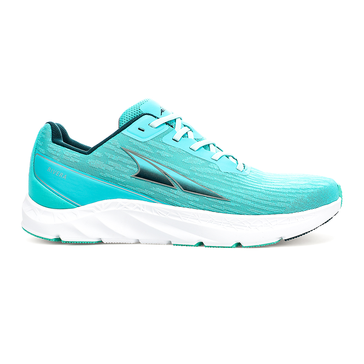 Women's Altra Rivera Running Shoe - Color: Teal/Green - Size: 5.5 - Width: Regular, Teal/Green, large, image 1